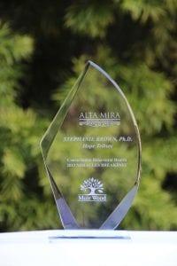 stephanie brown 2013 Award