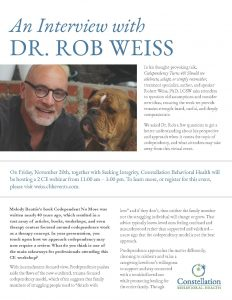 Rob Weiss Interview
